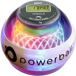 RPM Sports NSD パワーボール 280Hz Autostart Fusion Pro オートスタート機能 デジタルカウンター搭載 LED発光モデル / 筋トレ 握力 前腕 手首 トレーニング 器具 トレーニングボール リストボール ローラーグッズ