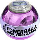 RPM Sports パワーボール 250Hz Sports Pro デジタルカウンター搭載 LED発光 / 筋トレ 握力 前腕 手首 トレーニング 器具 トレーニングボール リストボール ローラーリストボール リストローラーボール パワーリストボール グッズ
