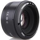 YONGNUO AF YN50mm F1.8 単焦点レンズ キャノン EFマウント フルサイズ対応 標準レンズ 大口径 オートフォーカス レンズ
