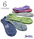 PHERROW'S フェローズ ミックスカラーのコンフィーショートソックス『ネップミックスショートソックス』【アメカジ・靴下】COMFYSOXSHORT(Socks)(std)