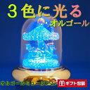 【 光ドームオルゴール 】 オルゴール プレゼント ギ