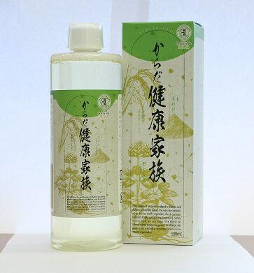 からだ健康家族 医学団体「日本成人病予防協会」による推奨認定品鉱物からではなく、国産米のもみ殻から抽出した植物性シリカが主原料だから安心です!!