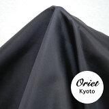 シルク 羽二重 サテン ブラック(黒)12匁 zdr ☆手芸,服地,ファッションアイテム【RCP】【P25Jan15】