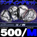 ▲小継玉の柄 BLUE LARCAL500 & ランディング...