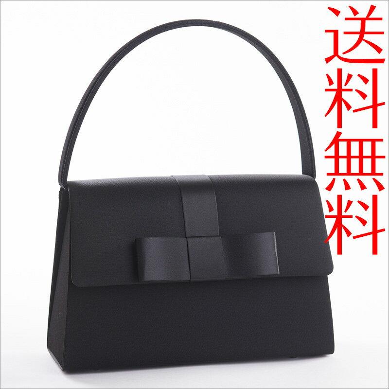 【送料無料】ブラックフォーマルバッグ 大リボン黒 冠婚葬祭【あす楽対応】...:orora:10005147