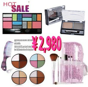 Grab bag 2013 Pro specifications 14 color eye shadow palette, eyebrow pencil, Concealer, storage case with 7 brush sets, gift with MEP-07set0210P18Oct13