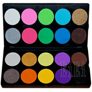 Professional eyeshadow palette, makeup palette 20 colors MEP-20P (eye shadow)