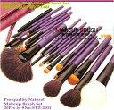 メイクブラシセット、化粧ブラシセット、お洒落な専用収納ケース付き20本セット STZ-2001【RCP】