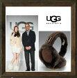 UGG Australia 【アグ オーストラリア】 Double ''U''Logo Shearling Earmuff 【5801】ムートン・イヤマフ 耳あて color【CHOCLATE】チョコレート/【GREY】グレー/【BLACK】ブラック/【CHESNUT】チェストナット