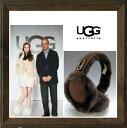 UGG Australia �ڥ��� �������ȥ�ꥢ�� Double �ǡ�U�ǡ�Logo Shearling Earmuff ��5801�ۥ�ȥ���ޥա������� color��CH...