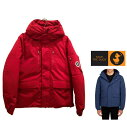 SAVE THE DUCK【 セイブザダック 】 SMEG WINTER HOODED PARKA IN 8582438【P3060M】 MENS ナイロン・キルティング ジャケットColor:1501【 Mineral Red 】レッド