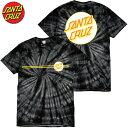 サンタクルーズ SANTA CRUZ OTHER DOT TEE(ブラック 黒 SPIDERE BLACK WASH)サンタクルーズTシャツ SANTA CRUZ Tシャツ サンタクルーズ半袖 SANTA CRUZ半袖