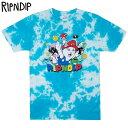 リップンディップ RIPNDIP NERMIO TEE(BLUE CLOUD WASH)リップンディップTシャツ RIPNDIPTシャツ リッピンディップTシャツ RIP N DIPTシャツ リッピンディップ半袖 RIPNDIP半袖