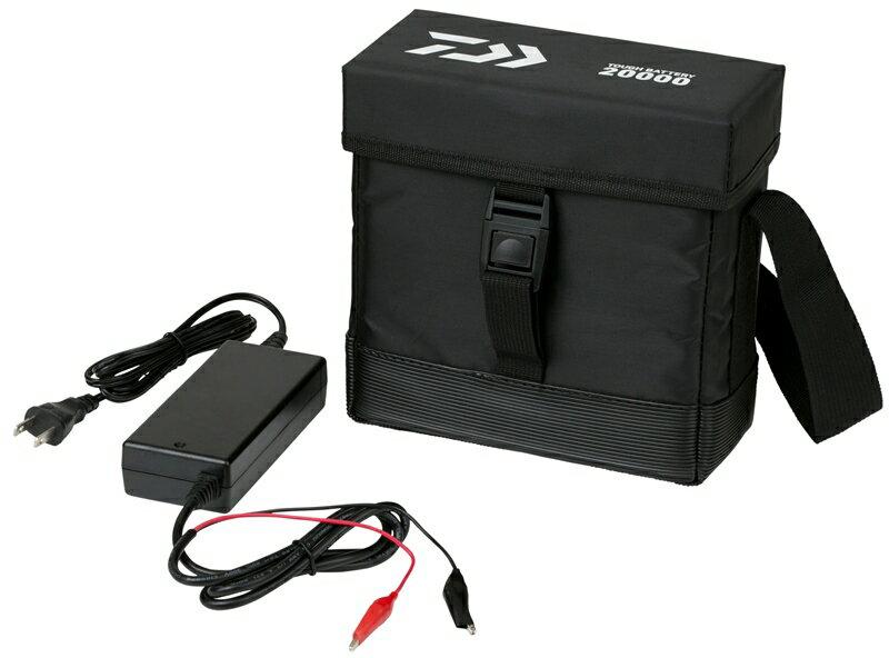 送料無料ダイワ(daiwa)タフバッテリー20000C(充電器付き)電動リール対応バッテリー20Ah