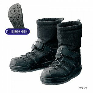 Shimano (shimano) geo-lock supermarket thermal boots (cut rubber pin felt sole) FB -057L S/M/L/LL/3L
