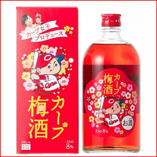 【広島東洋カープ】カープ梅酒 720ml(化粧箱付)【ギフト プレゼント】