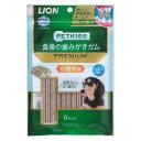 ライオン商事 PETKISS 食後の歯みがきガム プレミアム 小型犬用 6本【happiest】【SBT】(6041685)