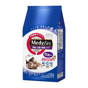 ペットライン メディファス 11歳から チキン味 1.5kg(