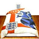 ショッピング枕カバー ファンは大喜び/サッカー イングランド代表/ロゴはスリー ライオンズ/掛け布団カバー & 枕カバー/すかしのロゴかっこいい/サッカーの 夢を見たい/今夜も よく 眠れそう/イングランド 大好きな人へ !