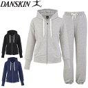 【送料無料】大きいサイズあり DANSKIN ダンスキン Body sweat スウェット上下セット DA55113 DA65101 レディース 女性 スエット...