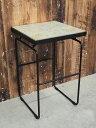 【新古品】 【展示品】 IDEE (イデー) MACTAN SIDE TABLE (マクタン サイドテーブル) / W350 サイドテーブル ベージュ ブラック 【T0229-01】