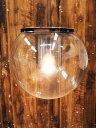 【中古】 OLUCE (オルーチェ) The Globe 828 / H1220 ペンダントライト コードカスタム クリア 電球付 【R1102-01】