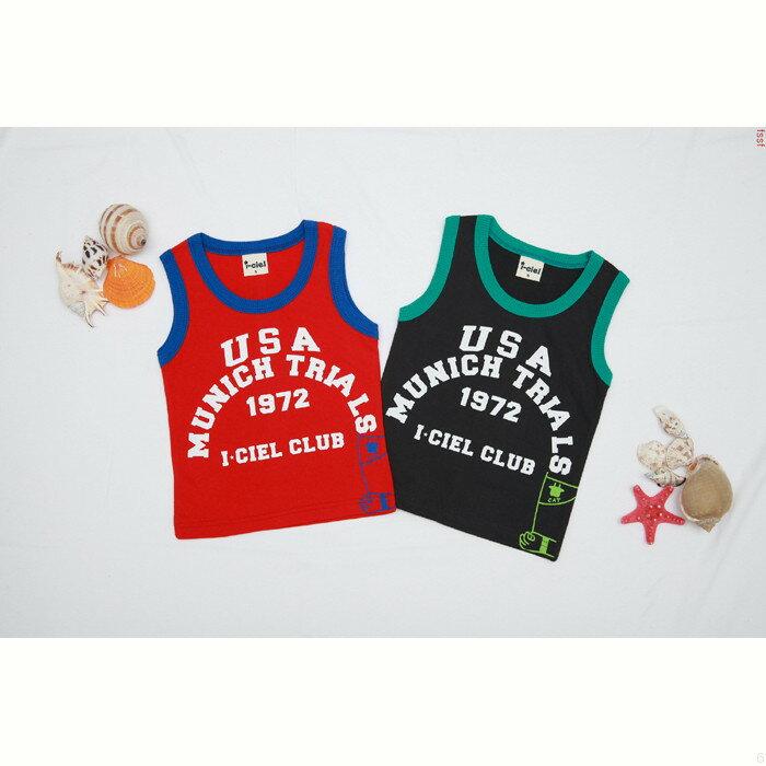 韓国子供服タンクトップ5000円以上のお買い物で送料無料男の子/女の子/キッズ/ジュニアノースリーブ