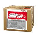 【送料無料】鉱物油用洗剤 ショップ600(SHOP600) 18L(シーバイエス)[工場 鉱物油 油汚れ]