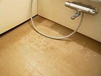 浴室掃除用ブラシ,凸凹したお風呂の床掃除,お風呂床用ブラシ,カラリ床の黒ずみ汚れ取りブラシ,toto床ブラシ,ほっカラリ床掃除,バスブラシ,溝掃除ブラシ,すみっこブラシ,隅こすりブラシ,蛇口掃除ブラシ,業務用ブラシ