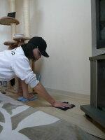 【ワックスがけ前の床面清掃・皮脂汚れ落としに】弱アルカリ性・床用洗浄液200ml