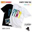 【MIX CD 付】 LINKAGE (リンケージ) PARTY TIME TEE Tシャツ (Mix Color)[Tシャツ メンズ 半袖 ストリート ブランド グラデーション タイダイ neighborhood watch ネイバーフッド・ウォッチ]【あす楽対応】 楽天カード分割
