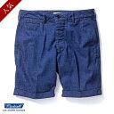 「スーパーSALE 40%OFF」 RADIALL (ラディアル) BEACH CRUISER DENIM short pants (2016 SS)[セール]...