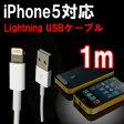 ( 相性保証付 NO:A-A-1 ) iphone5対応充電USBドックケーブル ( 1m ) ( iphone5 ipad4 ipadmini 第5世代iPod touch対応 ) ( 関連:DOCK Lightning 8ピンコネクタ ドッグコネクタ lightning ケーブル 充電USBケーブル 30ピンコネクタ 変換 ) qq