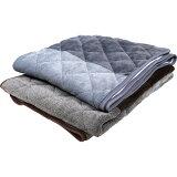 あったか吸湿発熱 敷きパッド シングル 100x205cm 省エネ対策 中綿増量 洗える / 洗濯 丸洗い 冬 あったか あたたか もこもこ ふわふわ 厚 毛布 敷パット
