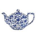 イギリス食器 バーレイ社 ブルーアーデン ティーポット L 1.0L 花柄/おしゃれ/陶器/おすすめ/かわいい