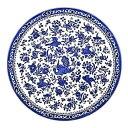 イギリス食器 バーレイ社 Burleigh Regal Peacock リーガルピーコック プレート25cm お皿/花柄/料理/おしゃれ/孔雀