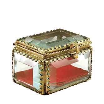 ジュエリーボックス ゴールドシリーズ プチジュエリーボックス フレンチアンティーク/ガラス/人気プレゼント