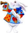 不思議の国のアリスグッズ|Alice's Adventures in WonderlandYARTO社 不思議の国のアリスマグネット(トランプうさぎ)