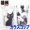 グラス タンブラー ガラスコップ 音たま ネコ柄 音符柄 黒猫 チェック/ドット 日本製 食器 ノアファミリー 猫 雑貨 小物 グッズ ねこ ネコ 猫柄 猫雑貨 猫グッズ 女性 レディース かわいい おしゃれ ギフト包装無料
