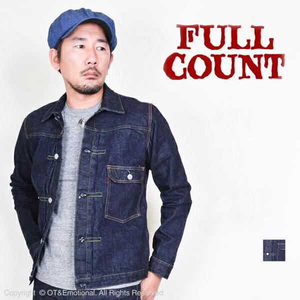 FULL COUNT(フルカウント)デニムジャケ...の商品画像