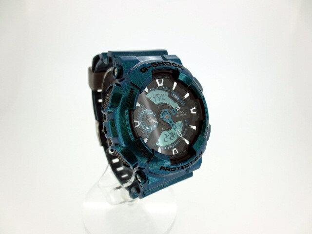 【】CASIO/カシオ G-SHOCK/Gショック 腕時計/リストウォッチ カラー:グリーン系 【20170303★値下げ】