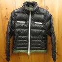 【中古】DUVETICA デュベティカ ダウンジャケット サイズ:42 カラー:ブラック×カーキ / インポート【f108】
