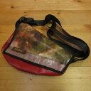 【中古】KULTBAG カルトバッグ メッセンジャーバッグ サイズ:- カラー:レッド【f121】