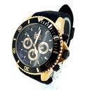 【中古】ICE WATCH アイスウォッチ 腕時計 リストウォッチ サイズ:- カラー:ブラック×ゴールド【f131】