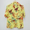 【中古】H.R.MARKET/ハリウッドランチマーケット S/Sアロハシャツ サイズ:1 カラー:マルチカラー / アメカジ【f101】