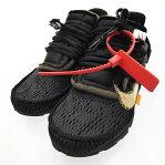 NIKE/ナイキ スニーカー/AIR PRESTOxOFF-WHITE/AA3830-002/THE10 サイズ:26 カラー:ブラック