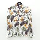【中古】soe/ソーイ L/Sアロハシャツ サイズ:0 カラー:マルチカラー / ドメス【f104】