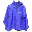 【中古】mont-bell モンベル GORE-TEX ストームクルーザージャケット マウンテンパーカー サイズ:L カラー:パープル / アウトドア【f092】