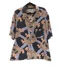【中古】NOMA t.d. ノーマティーディー N25-SH03 'Summer Shirt' オープンシャツ サイズ:4 カラー:総柄 / セレクト【f099】