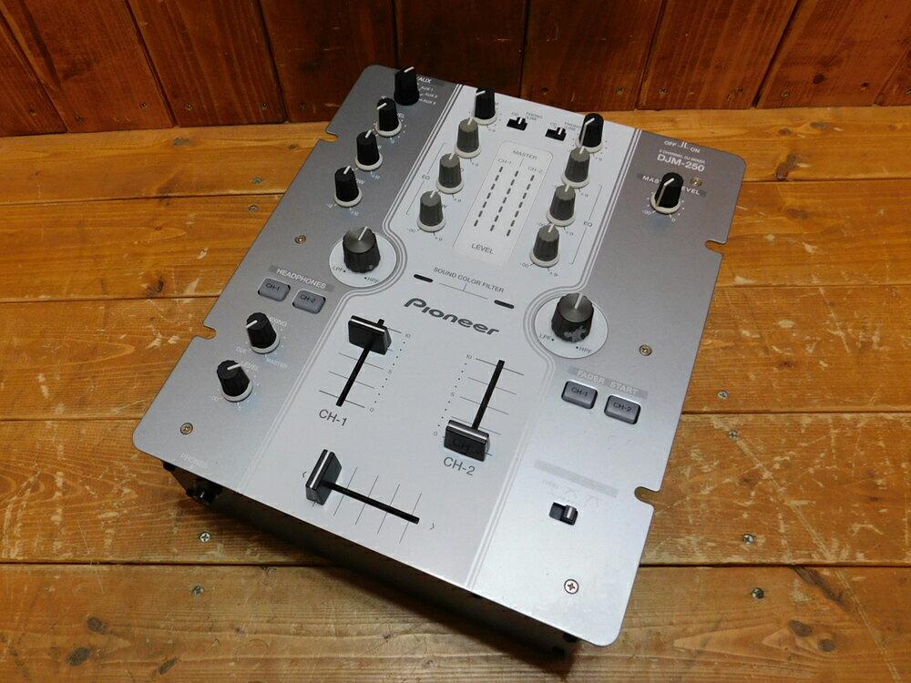 Pioneer/パイオニアDJM-250中古used/ユーズド楽器/DJ機器/DJミキサー